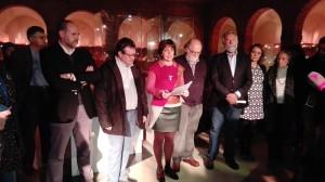 Presentación de dos piezas cerámicas. Museo Ruiz de Luna. 12 de febrero de 2016.